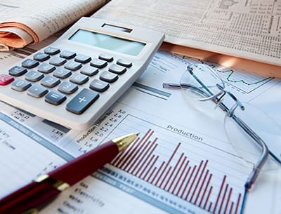 Homepage: Banking & Finance